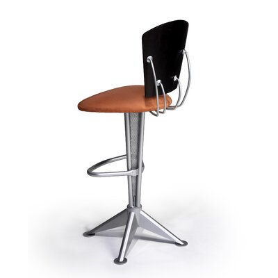 "Createch Kat 24"" Swivel Bar Stool with Cushion"