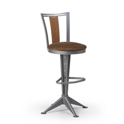 "Createch Doz 30"" Swivel Bar Stool with Cushion"