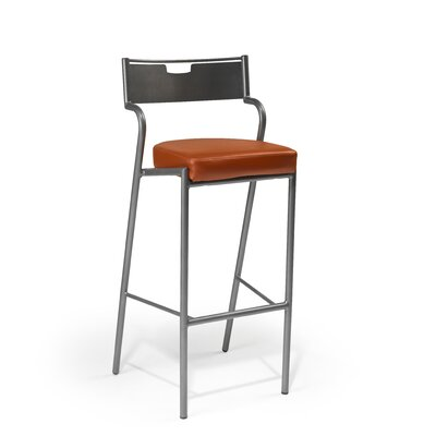 "Createch Deesse 24"" Bar Stool with Cushion"