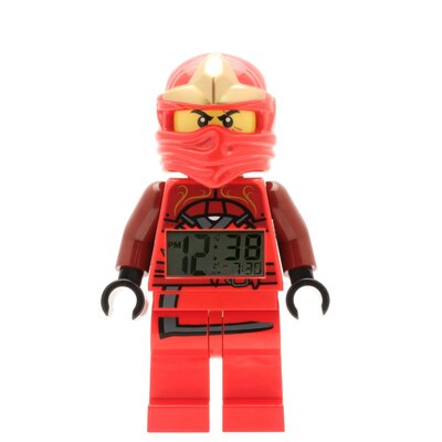 Lego Watch Ninjago Kai ZX Minifigure Clock