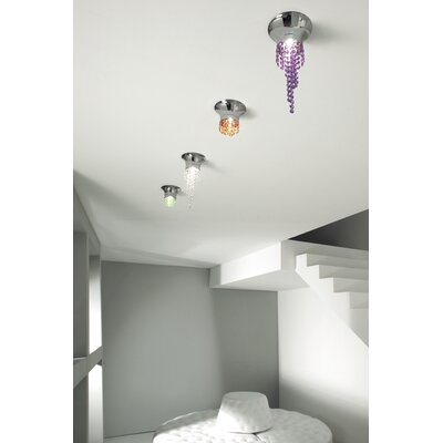 Masiero Kioccia 1 Light Flush Mount