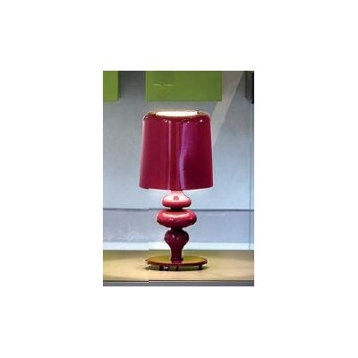 "Masiero Eva Small 11.1"" H Table Lamp with Drum Shade"