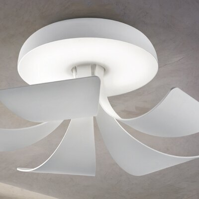 Masiero Blossomy 1 Light Flush Mount