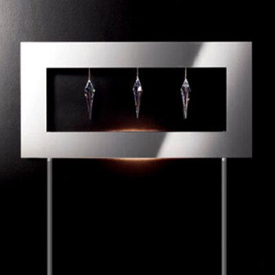 Masiero Click 1 Light 3 Crystal Floor Lamp
