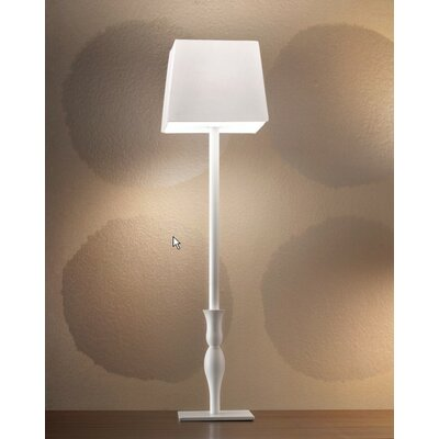 "Masiero Slim Tall 23.7"" H Table Lamp with Square Shade"