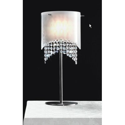 "Masiero Nerosole 23.63"" H Table Lamp with Drum Shade"