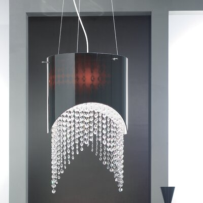 Masiero Nerosole 3 Light Mini Pendant
