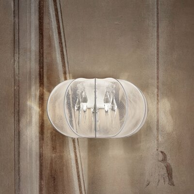 Masiero Tessuti Sphere 2 Light Wall Sconce