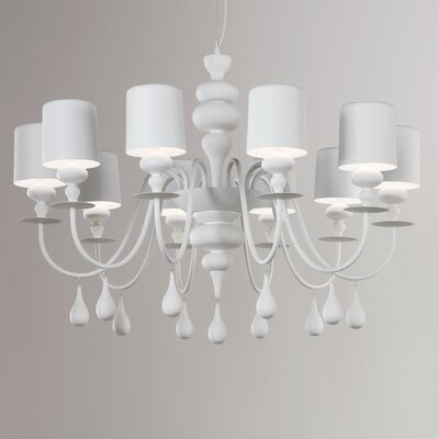 Masiero Eva 10 Light Chandelier