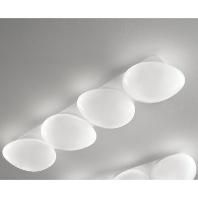 Masiero Sasso 4 Light Flush Mount