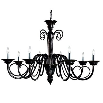 Masiero Oblio 8 Light Chandelier
