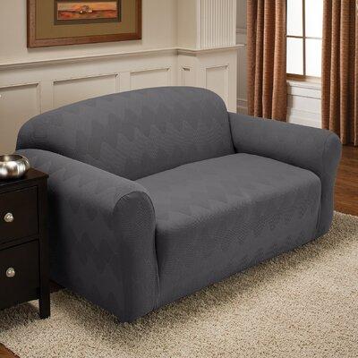 optics sofa slipcover wayfair. Black Bedroom Furniture Sets. Home Design Ideas