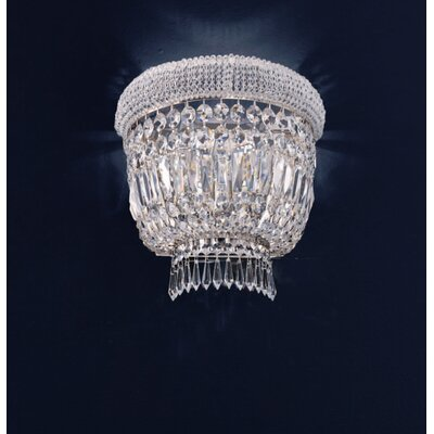 Cristalstrass Murano & Crystal Osaka 3 Light Crystal Wall Sconce