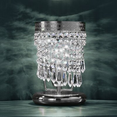Cristalstrass Murano & Crystal Twister 1 Light Crystal Table Lamp