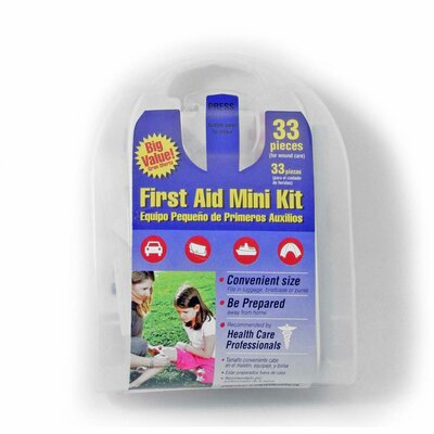 Ready America 33-Piece All Purpose First Aid Kit