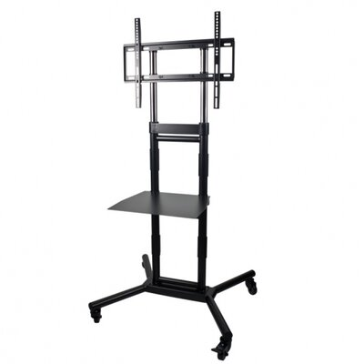 "Audio Solutions 60"" Rolling Cart TV Audio Mount"
