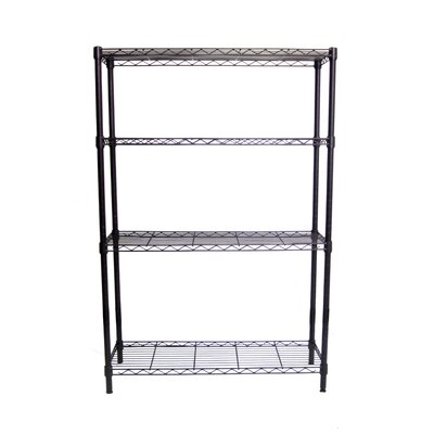 "Trinity NSF Indoor Wire 54"" H 4 Shelf Shelving Unit Starter"
