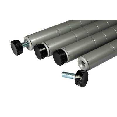 "Trinity NSF 36"" Outdoor Poles (Set of 4)"