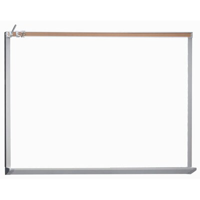 AARCO Architectural High Performance Series Marker Board in White