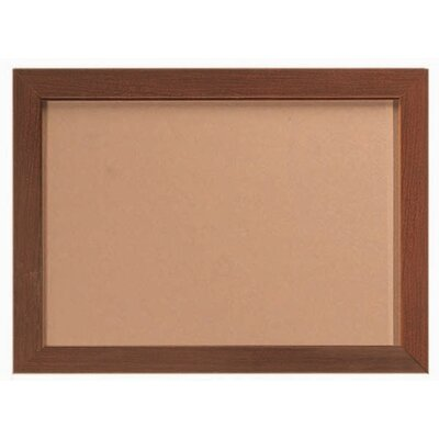 AARCO Architectural High Performance Bulletin Board in Aluminum Wood