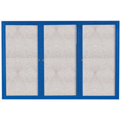 AARCO Illuminated Enclosed Bulletin Board