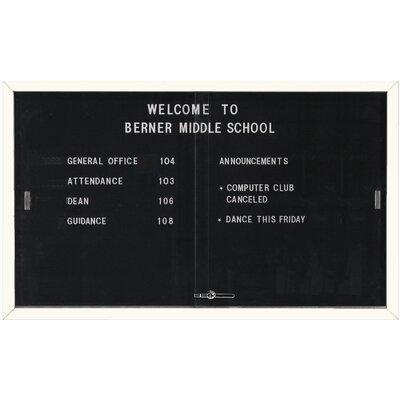 AARCO Enclosed Directory Board