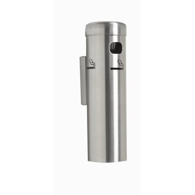 AARCO Wall Mounted Cigarette Receptacle