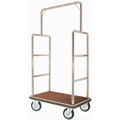 "AARCO 42"" Bellman's Luggage Cart"