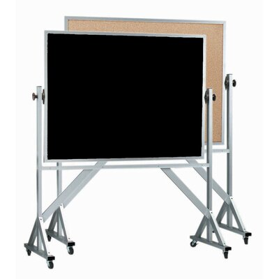 AARCO Reversible Free Standing Combination Board