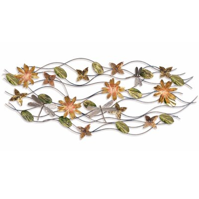FoxHillTrading Iron Werks Dragonfly Breeze Wall Sculpture
