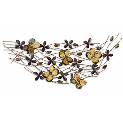 Fox Hill Trading Iron Werks Mariposa Wall Sculpture
