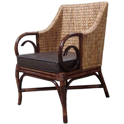 Fox Hill Trading Rattan Living Arm Chair