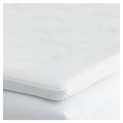 <strong>Fox Hill Trading</strong> Cooling Touch Memory Fiber Mattress Topper