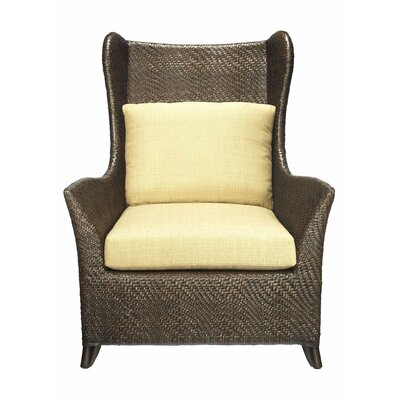 Selamat Riva Fabric Hourglass Weave Bergere Chair