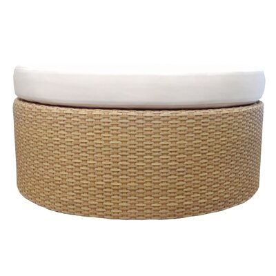 Selamat Sola Ottoman with Cushion