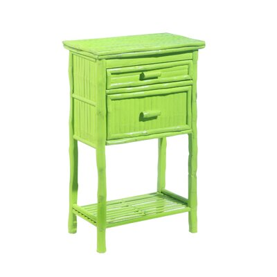Kenian Coastal Chic 2 Drawer Accent Chest