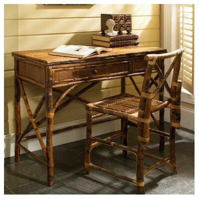 Coastal Chic English Desk with Chair Set