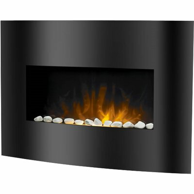 balmoral electric fireplace heater with remote