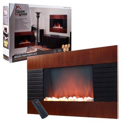 Warm House Wall Mounted Electric Fireplace