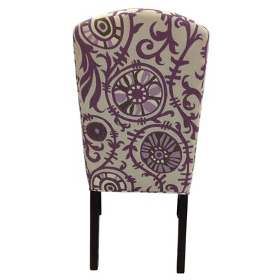 Sole Designs Passion Cotton Parson Chair (Set of 2)