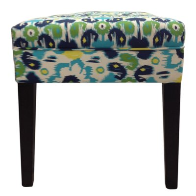 Sole Designs Cotton Tufted Bench