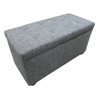Sole Designs Angela Tufted Cotton Storage Ottoman