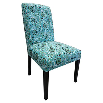 Sole Designs Kacey Suzani Cotton Parson Chair (Set of 2)