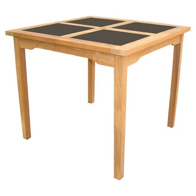 HiTeak Furniture Square Table