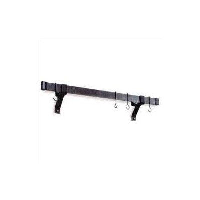 Premier Rolled End Bar Wall Mounted Pot Rack