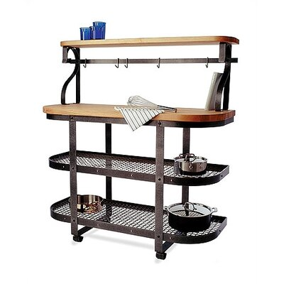 Enclume Kitchen Cart Base with Wood Top