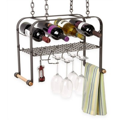 4 Bottle Hanging Wine Rack