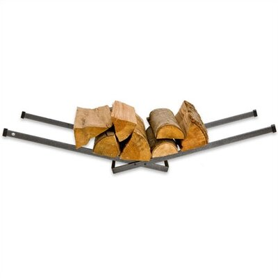 Enclume Steel Right Angle Porch Log Rack