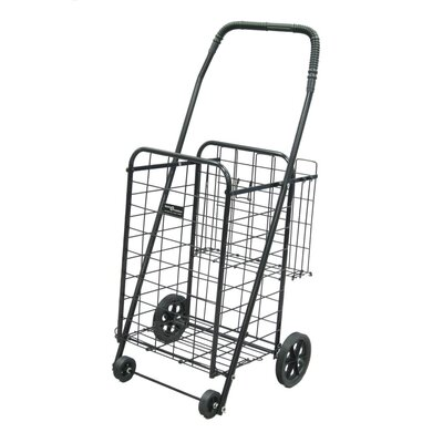 Narita Trading Company Narita Mini Shopping Cart Plus in Black