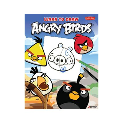 Walter Foster Learn to Draw Angry Birds